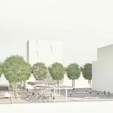 Visualization, Central Square © West 8 urban design & landscape architecture