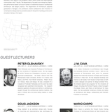 Guest lecturers for SDSUs Fall 13 lecture series. Image courtesy of SDSU.