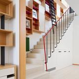 Soho Penthouse in New York, NY by Andrew Franz Architect, PLLC; Photo- Albert Vecerka:Esto