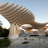 Shortlisted - Best new public building: Metropol Parasol, Spain, by J Mayer H (Image via Wallpaper*, Photo: Fernando Alda)