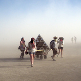 Iowa State students return from the Burning Man festival and share their stories photo via Hannah Fischer