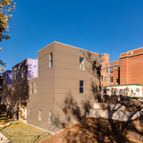Rear exterior, Bancroft School project. Photo credit Chad Jackson Photography.