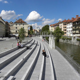 JOINT WINNER: RENOVATION OF THE RIVER LJUBLJANICA, Ljubljana (Slovenia), 2011 (Photo: AteljeVOZLIC)