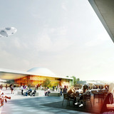 Front plaza (Image: Henning Larsen Architects and Van den Berg Groep)