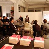 bracket [goes soft] book launch in NYC Studio-X Global Network