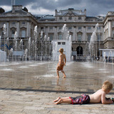 Galit Seligmann - Fountains at Somerset House