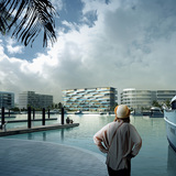 Honeycomb resort by BIG + HKHoneycomb by BIG + HKS + MDA. Image courtesy of BIG.S + MDA. Image courtesy of BIG.