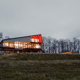 Montagnaro House in Ghent, NY by Mapos LLC