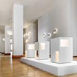 Richard Meier Light display at the Ralph Pucci New York showroom. Photo: Scott Frances.