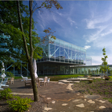 Tween Brands Corporate Headquarters, New Albany, Ohio by Acock Associates Architects. © Brad Feinknopf