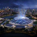 Future projects leisure-led development winner: Singapore Sports Hub by Singapore Sports Hub Design. Image courtesy of WAF.