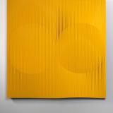 Morphing Yellow, 2009. Aluminium, cm 183 x 13 x 183. Property of Studio Calatrava © Santiago Calatrava