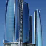 3rd Place: Etihad Towers, Abu Dhabi, 217.5 - 305.3 m, 56 - 79 floors (Copyright: Warren Coyle)