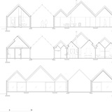 House sections. Image courtesy of Tham & Videgård Arkitekter