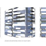 Residential facade, pattern (Image: UNStudio)