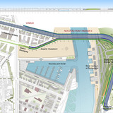 Rabat-Salé Urban Infrastructure Project: Master plan. Image: AKAA / Courtesy of Architects