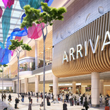 Arrival Hall. Image courtesy of SAA and Benoy.