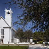 The Seaside Chapel in Seaside Florida. Image via University of Notre Dame, School of Architecture