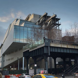 The buildings eastern face is adjacent to the High Line. Credit: Ed Lederman via the Whitney Museum of American Art