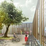 Kindergarten courtyard (Image: Atelier3AM)