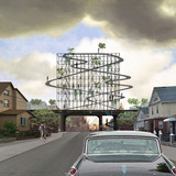 2nd Prize, $2500: Queens Billboard by Nikolay Martynov of Basel, Switzerland