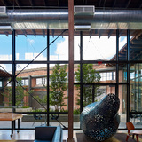 Hughes Warehouse Adaptive Reuse; San Antonio by Overland Partners. Photo: Dror Baldinger.