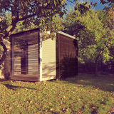 Garden minihouse in Gdynia, Poland by Grupa Bio3 - Laboratorium Bioarchitektury