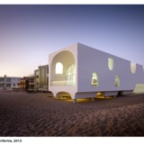 Vault House, a 2013 project by Johnston Marklee in Oxnard, California