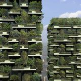 Boeri Studio's Vertical Forest in Milan consists of two residential towers that are