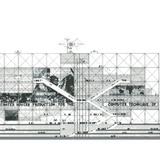 Richard Rogers | Rogers Stirk Harbour + Partners, The Centre Pompidou, Screenprint, 24 x 36