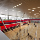 Education Award: California State University Northridge, Student Recreation Center. Design/Executive Architecture Firm: LPA, Inc. Photo Credit: Costea Photography Inc.