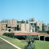 Construction process - La Fabrica Taller de Arquitectura Ricardo Bofill - Sant Just Desvern, Barcelona, Spain, 1975. Photo: Serena Vergano.