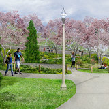 Rendering of Julia de Burgos Park. Image via the606.org