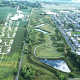 Prairie Waterway Stormwater Park. Image: Balmori.com