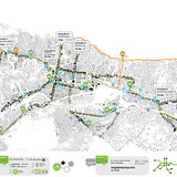 Route map (Image: Andrea Hernández & Cruz Criollo)
