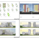 Holcim Bronze Award: Ecologically-designed retail and commercial building, Putrajaya, Malaysia: Plans, sections, elevation.