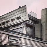Kyoto International Conference Hall designed by Savhio Otani (exterior)