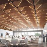 Qintai ballroom (Image: Adrian Smith + Gordon Gill Architecture)