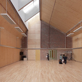 Sandal Magna School in Wakefield, Yorkshire, UK by Sarah Wigglesworth Architects; Project Architect: Mark Hadden