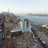 The Whitney under construction from above. Credit: Timothy Schenck via the Whitney Museum of American Art