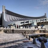 Olympic Arena by Kenzo Tange architect via Evan Chakroff