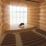 Recital hall (Image: Goettsch Partners)