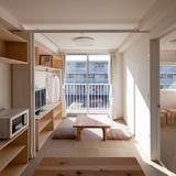 Container Temporary Housing, 2011, Onagawa, Miyagi, Japan Photo by Hiroyuki Hirai