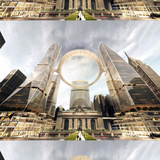 Skidmore Owings & Merrill's proposal for the new Grand Central Terminal, New York image courtesy SOM
