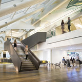 Interiors Award: CBRE Global Corporate Headquarters. Architect: Gensler. Photo credit: Ryan Gobuty, Gensler
