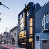 Black Mass - Linden Street Apartments in San Francisco, CA by Stephen Phillips Architects (SPARCHS); Photo: Tim Griffith Photography