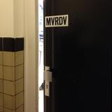 MVRDV office door, image courtesy 5468796 Architecture.