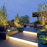 Sculptural Rooftop + Garden in Chicago, IL by dSpace Studio