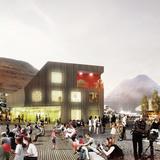 Klaksvík City Center, Plaza (Image: Henning Larsen Architects)