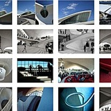 Eero Saarinen's TWA Terminal by Phaidon photographer Bryan Kelly who recorded three hours of the recent public opening
